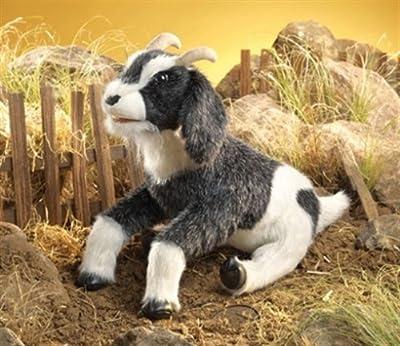 Folkmanis Puppets - Marioneta de cabra de peluche (47 cm) por Folkmanis Puppets