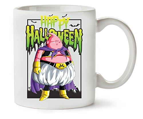 Majin Boo Happy Halloween Dragon Ball Dbz Anime Klassische Teetasse - Happy Sie Halloween-boo