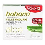 Babaria Gesichtscreme mit Aloe Vera - 125 ml
