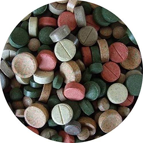 Futtertabletten TABLETTENMIX Tablettenfutter Zierfisch Tabletten Wels 13 Sorten 2kg/4800St.