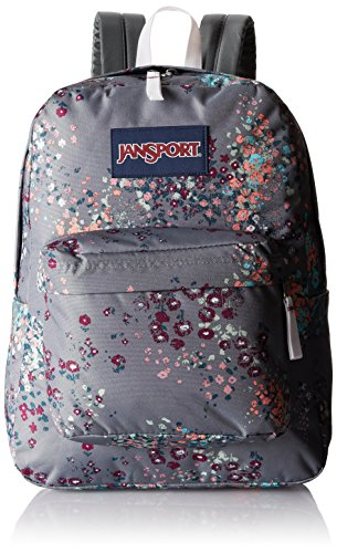 JanSport Unisex Superbreak Grau / Blume
