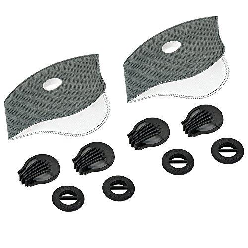 Filter, Skysper® Ventil Feinstaubmaske Atemschutz filter für Atemschutzmaske