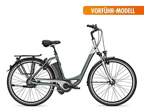 Kalkhoff E-bike Agattu Impulse Ergo Xxl Wave NuVinci Harmony encendido automático 36V/17ah 26'Grey/Silver RH 46, gris/plateado