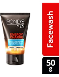 Pond's Men Energy Charge Icy Gel Face Wash, 50g