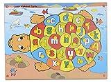 Skillofun Wooden My Alphabet Turtle, Mul...