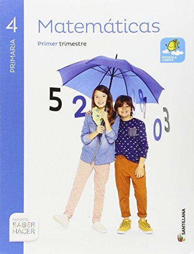 MATEMATICAS 4 PRIMARIA SABER HACERPack de 3 libros