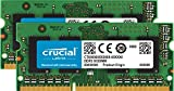 Crucial CT2KIT51264BF160BJ - Kit de memoria RAM de 8 GB (4 GB x 2), DDR3L, 1600 MT/s, PC3L-12800, Single Rank, SODIMM, 204-Pin