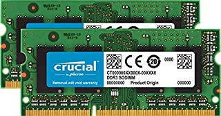Crucial CT2KIT51264BF160B 8 GB Kit (4 GB x 2) (DDR3L, 1600 MT/s, PC3L-12800, SODIMM, 204-Pin) Memory (B005LDLVAO) | Amazon price tracker / tracking, Amazon price history charts, Amazon price watches, Amazon price drop alerts