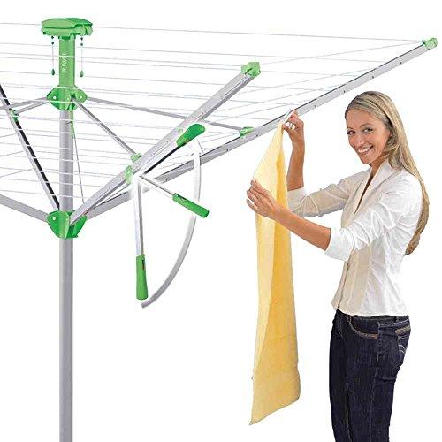 Preisvergleich Produktbild Wäschespinne Novaplus 600 incl. Eindrehbodenhülse