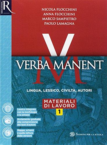Verba manent. Esercizi-Per tradurre-Repertori lessicali. Per le Scuole superiori. Con e-book. Con espansione online: 1