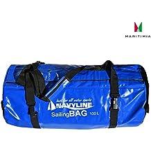 Wasserdichte Reisetasche, Navyline, Sailing Bag, 100 Liter