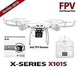 efaso X101–MJX X101con 720p FPV HD cámara WiFi C4018