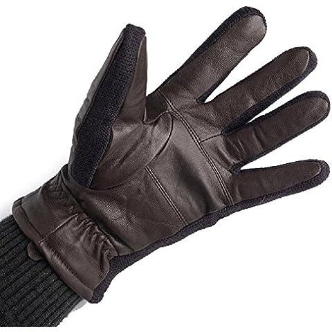 Gli uomini tenere caldi Plus Velvet guanti guanti in pile . 2