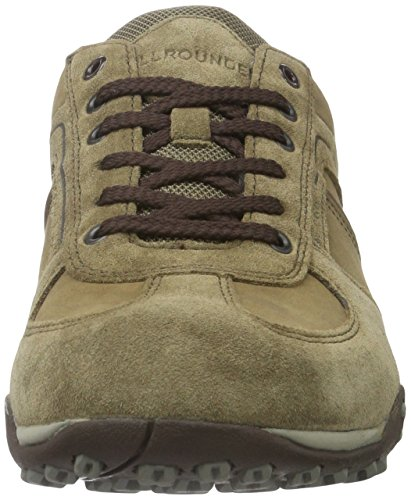 Mephisto Tori C.Suede 37/Ori 37 Taupe/Taupe, Baskets Basses Homme Marron (Taupe/Taupe)