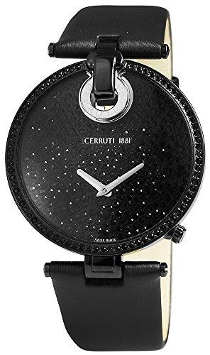 Cerruti Damen Armbanduhr schwarz CCRWM036V222A