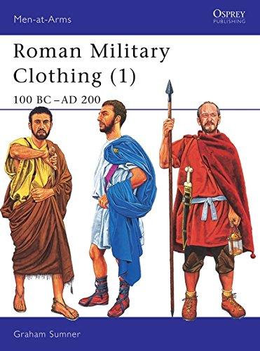 Roman Military Clothing (1): 100 BC-AD 200: 100 BC - AD 200 Vol 1 (Men-at-Arms) por Graham Sumner