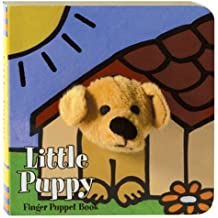 Little Puppy Finger Puppet Book (Finger Puppet Brd Bks)