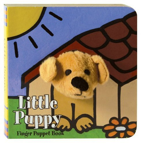 Little Puppy: Finger Puppet Book