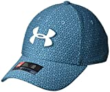 Under Armour Herren Printed Blitzing 3.0 Kappe, Static Blue/Techno Teal/Elemental (414), L/XL