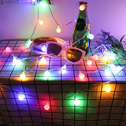 Lichterkette Strombetrieben, Von Longra, 10m 100er Warmweiß LED Lichterketten für Innen und Außen Deko wie Weihnachten, Party, Garten, Hochzeit, Erweiterbar (A)