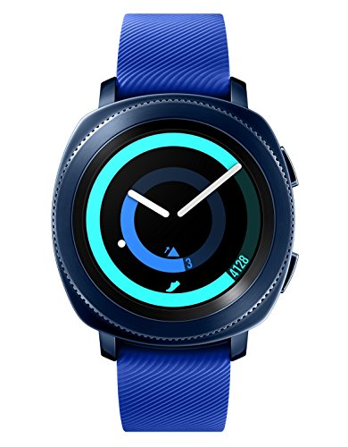 Samsung Mobile UK Gear Sport Smartwatch (UK Version) - Blue