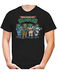 Teenage Mutant Ghostbusters T-Shirt | Ninja Turtles | Splinter | Movie | Fun