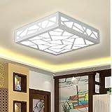 12 Montage Iluminación de techo de Flujo Moderno/Contemporáneo Tradicional/Clásico Pintura Característica for LED Madera/BambúSala de estar Dormitorio - Blanco cálido