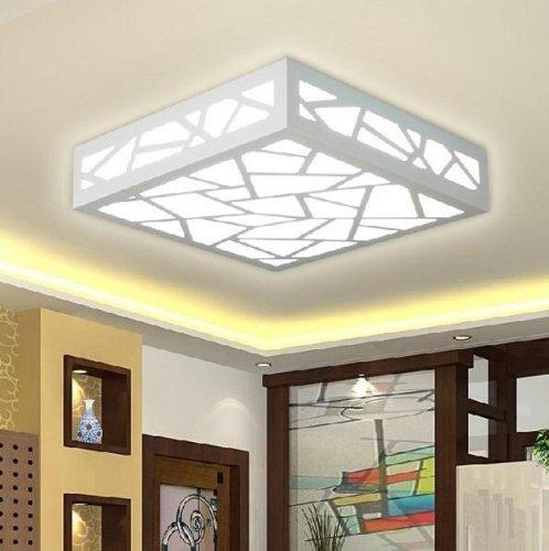 6 Tiffany Deckenleuchte (Creative Wood Carving Water Cube LED White Ceiling Lights (AC85~265V) Unterputz - Inklusive Glühbirne/LED - Zeitgenössisch/Traditionell-Klassisch [Energieklasse A])