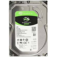 Seagate 3.5 Inch 2 TB BarraCuda Internal Hard Drive - Silver