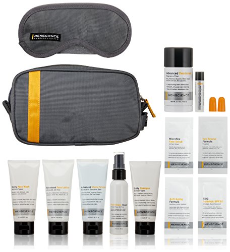 MenScience - Travel Kit (TSA Compliant) - Kit de voyage