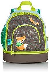 LÄSSIG Kinderrucksack mit Brustgurt Kindergartentasche Kindergartenrucksack / Mini Backpack, Little Tree
