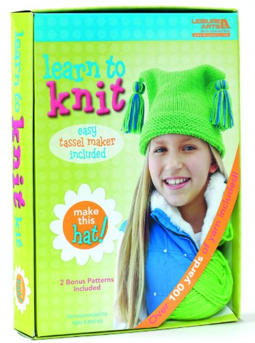 Learn to Knit: Hat Kit (Knit Pack Ties)