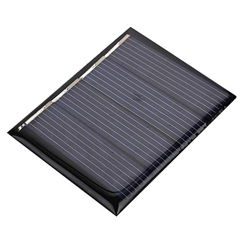 Descripción: Color: azul  Material: Polisilicio  Potencia: 0,3WCorriente actual: 115mA  Voltaje de trabajo: 2 (V) Tensión de circuito abierto: 2 (V) Controlador de aplicación:  Iluminación solar para jardín  Sistema de iluminación doméstica pequeña S...