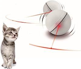 Sotoboo Cat Toys Automatische Rolling Ball, interaktives Spielzeug Entertainment für Katzen und Hunde–Cat Spielzeug für Katzen