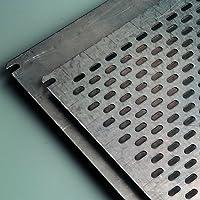 IDE PLP450 Placa De Montaje, Acero galvanizado, Ranuradas
