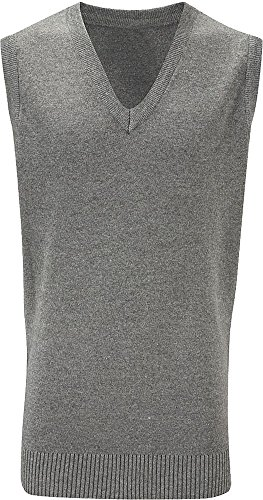 Banner Erwachsene Winter PREMIER LC Pullunder Acryl Warmer Pullover ärmellos Pullover Grau - Grau (Mid Grey)