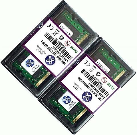 XUM 1X 2X 1GB 2GB 4GB 8GB DDR2 DDR2-667MHz 667