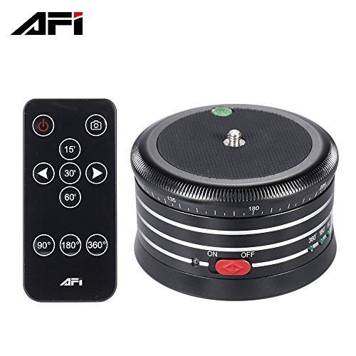 Andoer AFI MRA01 Professionelle 360 °Metall Elektro-Panoramakopf Kugelkopf mit Fernbedienung für GoPro Action-Kamera Smartphone Pocket-Kamera Micro SLR-Kamera-Digitalkamera