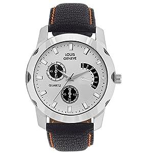 Louis Geneve Analogue White Dial Men's Watch LG-MW-B-WHITE-051