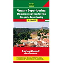 Freytag Berndt Atlanten : Ungarn Supertouring. Autoatlas. 1:250.000.
