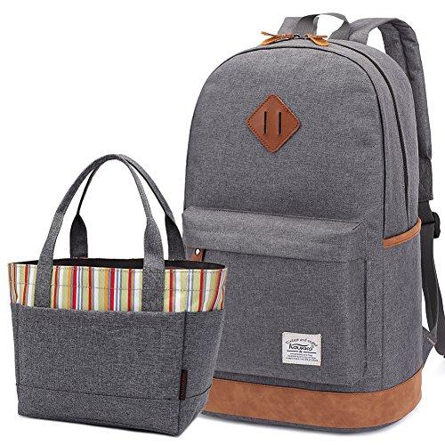 kaukko-schule-college-schulrucksack-stylisch-laptop-rucksack-freizeittasche-wanderrucksack-grau2pcs