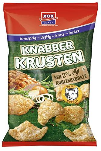 XOX Knabberkrusten, 6er Pack (6 x 50 g) -