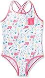 RED WAGON Mädchen Einteiler Mermaid Swimsuit, Rosa (Pink), 128 (Herstellergröße: 8 Jahre)