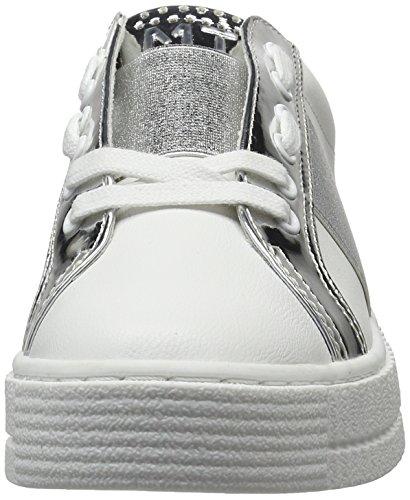 Marco Tozzi 23719, Sneakers Basses Femme Blanc (White Comb 197)