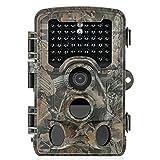 [Aktualisierte Version] Distianert 16MP 1080P HD Wildkamera Low-Glow-Infrarot-Schwarzblitz Jagdkamera 25m...