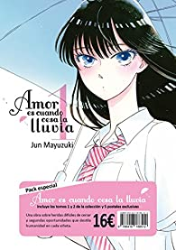 Amor es cuando cesa la lluvia - 2 volúmenes par Jun Mayuzuki