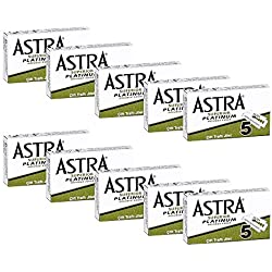 50cuchillas de afeitar Astra superior Platinum–Astra Green