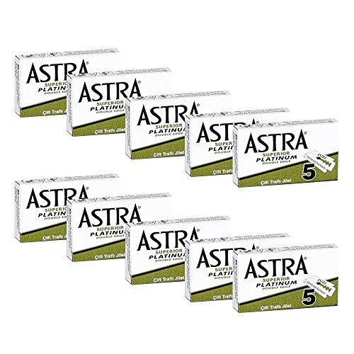 50Rasierklingen Astra Superior Platinum–Astra GREEN