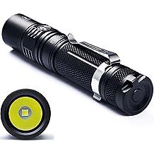 Torcia LED Sofirn SP32ad alte prestazioni Torcia con 960Lumen Super Luminoso Cree xpl2V6LED torcia della lampada della luce Set IPX8impermeabile 18650batteria e caricatore inclusi nella confezione.