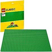 LEGO Classic 10700 Grüne Bauplatte, Lernspielzeug, Kreatives Spielen